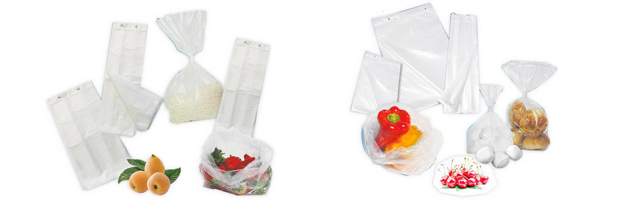 Sacchetti in HD e PLT (Plastica ad alta densità o a bassa densità)