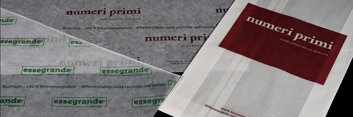 Carta per alimenti Bio