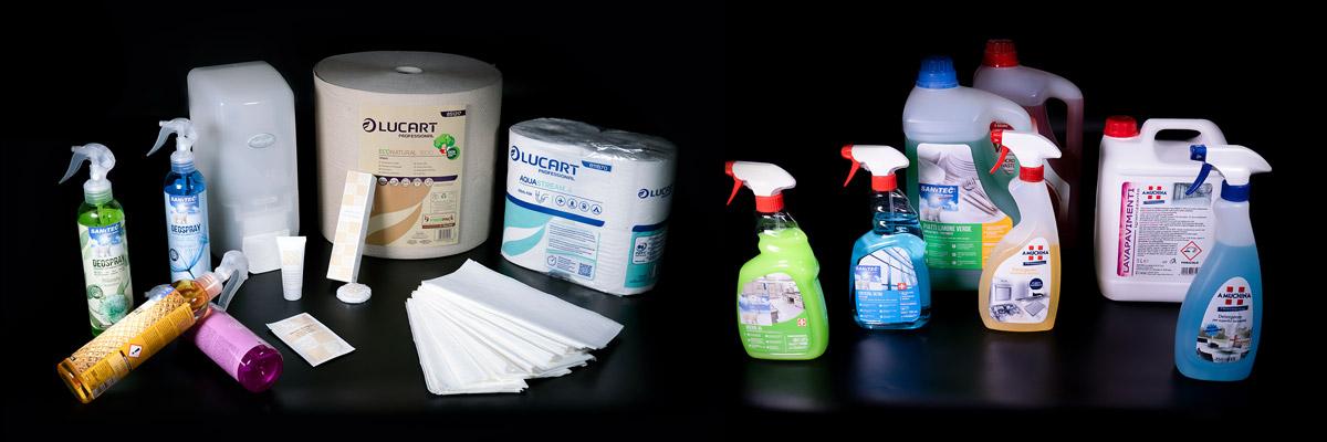 Detergenza professionale e accessori